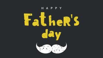 Tēva diena_melna_dzelteni texti
