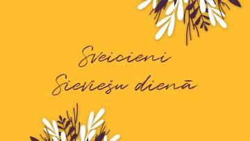 Sveicam Siecviešu dienā_dzeltens