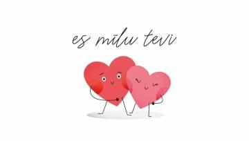 Es mīlu tevi _valentīndiena 2020